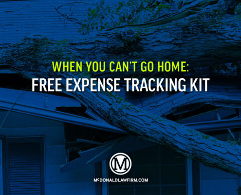 Free Expense Tracking Kit - McDonaldLawFirm.com