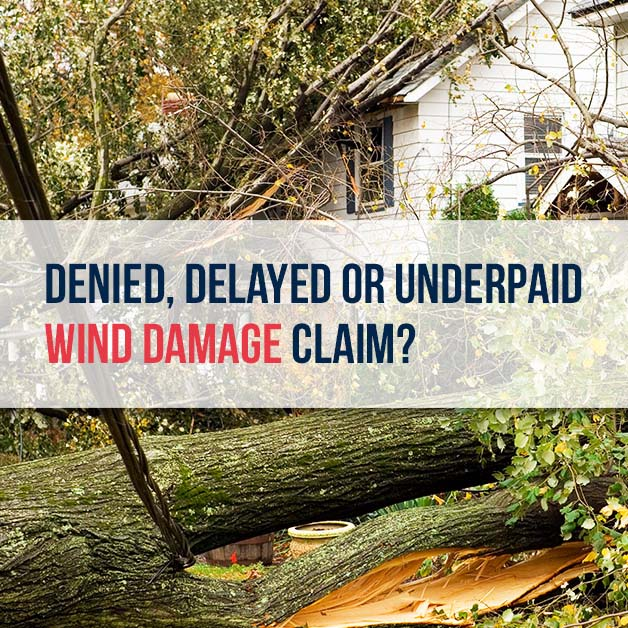 Denied, delayed or underpaid wind claim? McDonaldLawFirm.com
